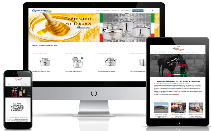 Sito Web ecommerce Lecce